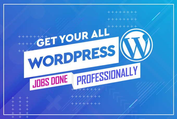 Create a Professional & Responsive Wordpress Website