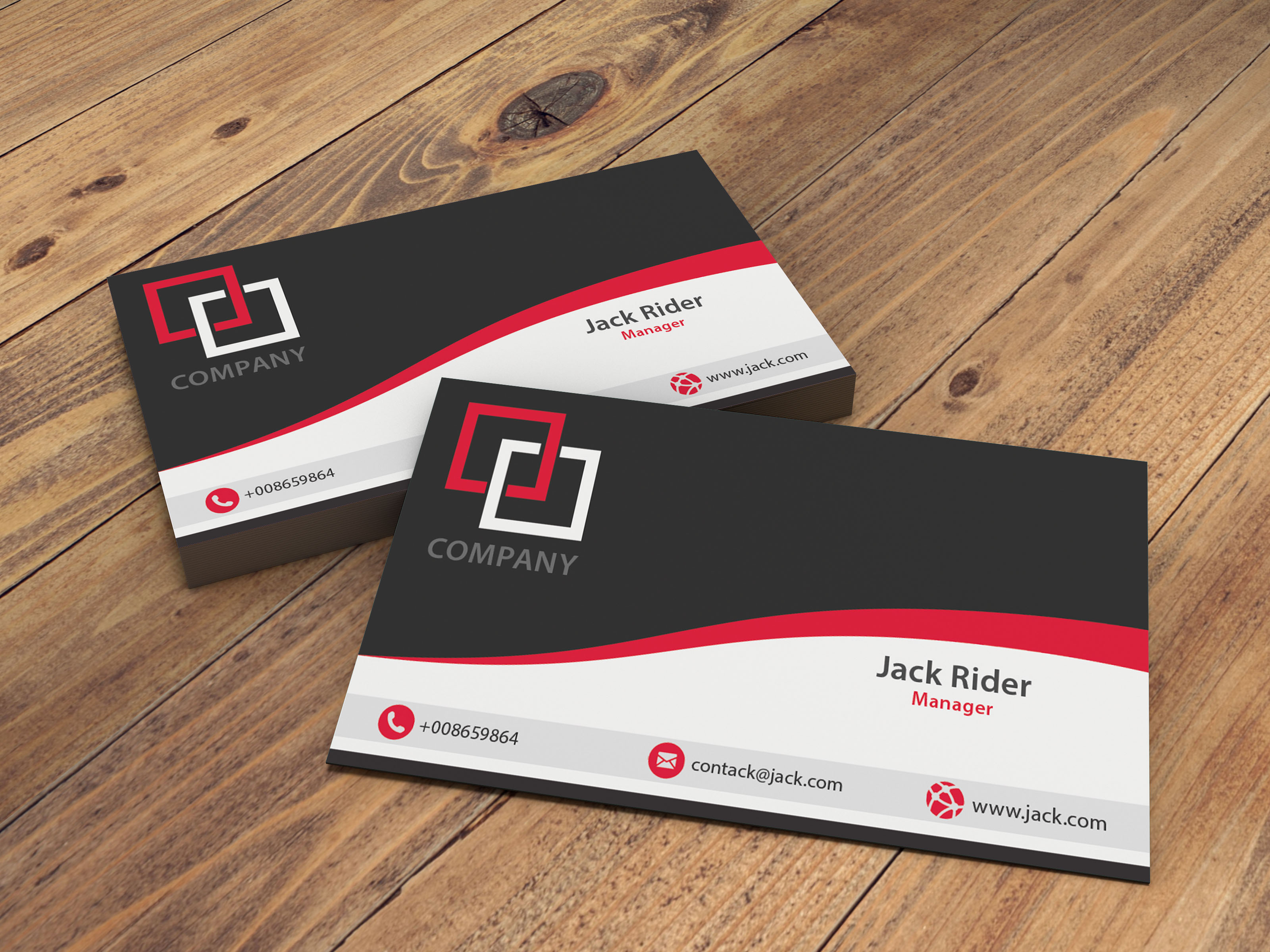 Design Creative Double Sided Business Card Or Postcar...