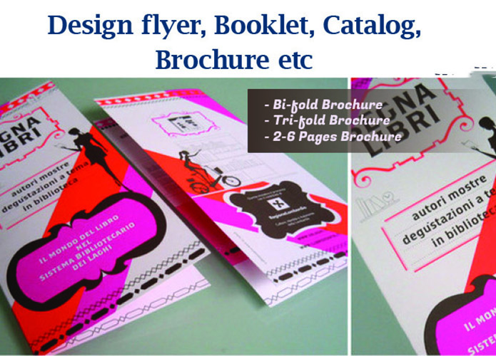 Creative Bifold Trifold Brochures And Flyers Within 24 Hrs