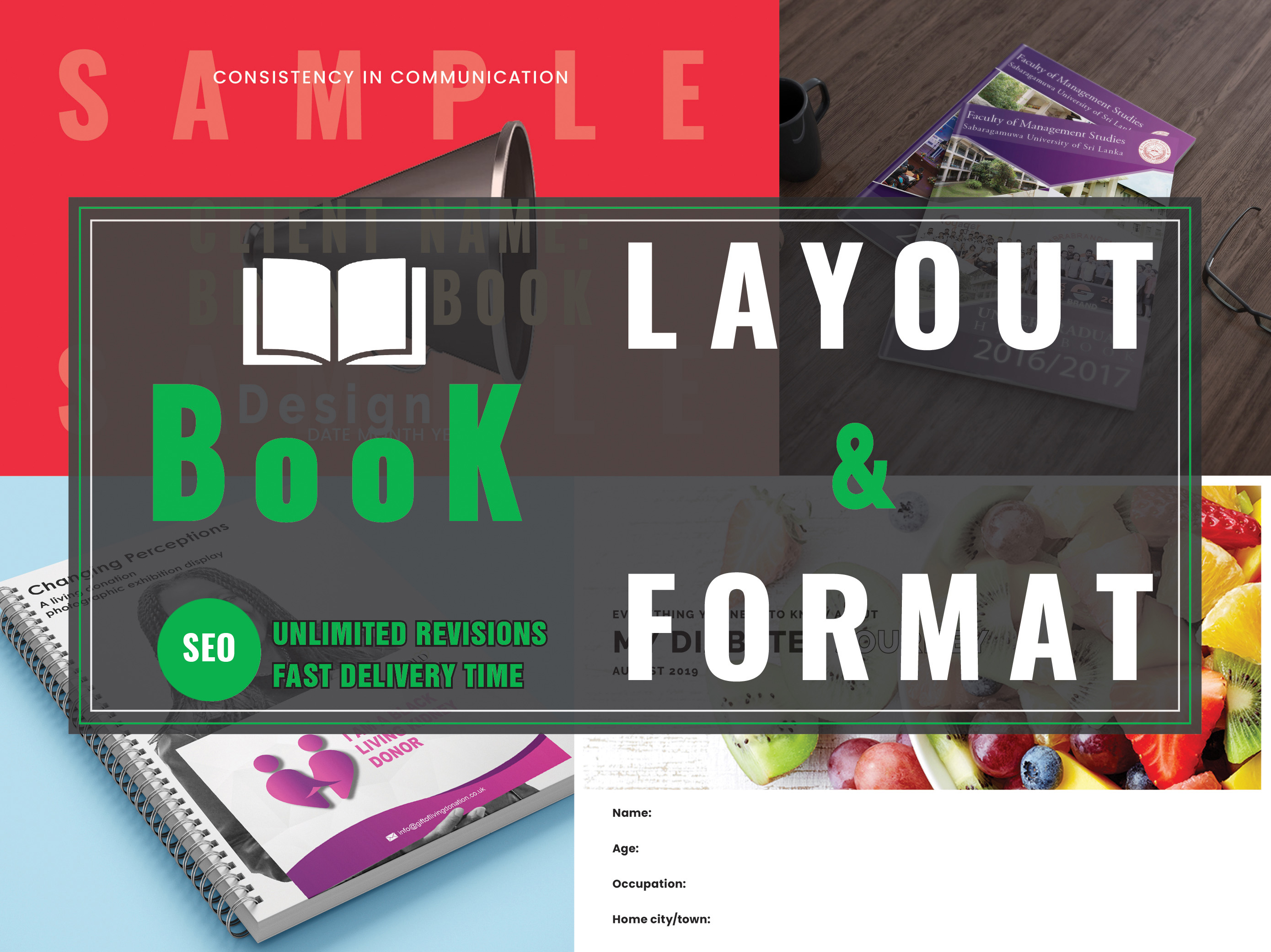 Design Amazing Book Layout And Formatting 50 Pages/More and booklets
