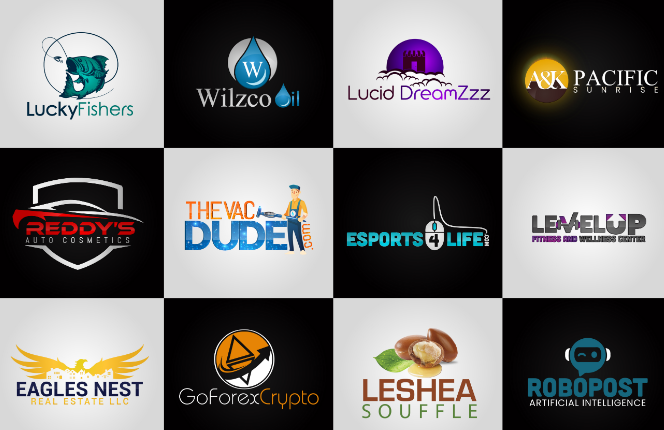 I will do awesome logo design with in 24 h