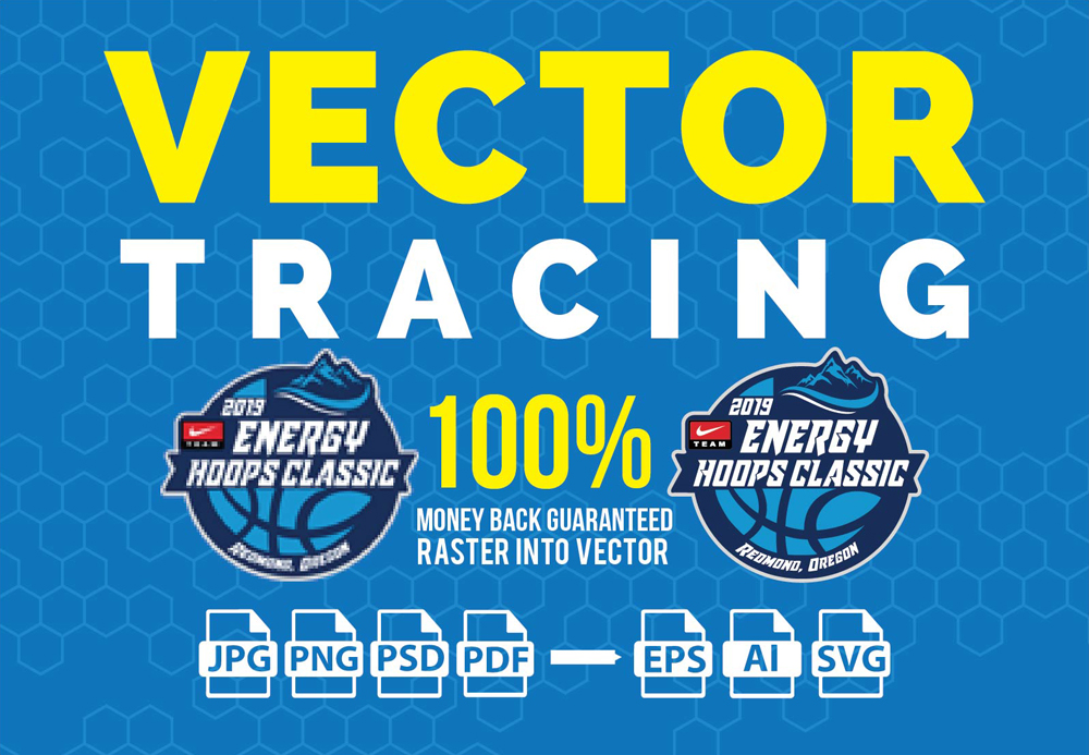 Redraw Vector Tracing,  Raster To Vector Image Or Vector Logo