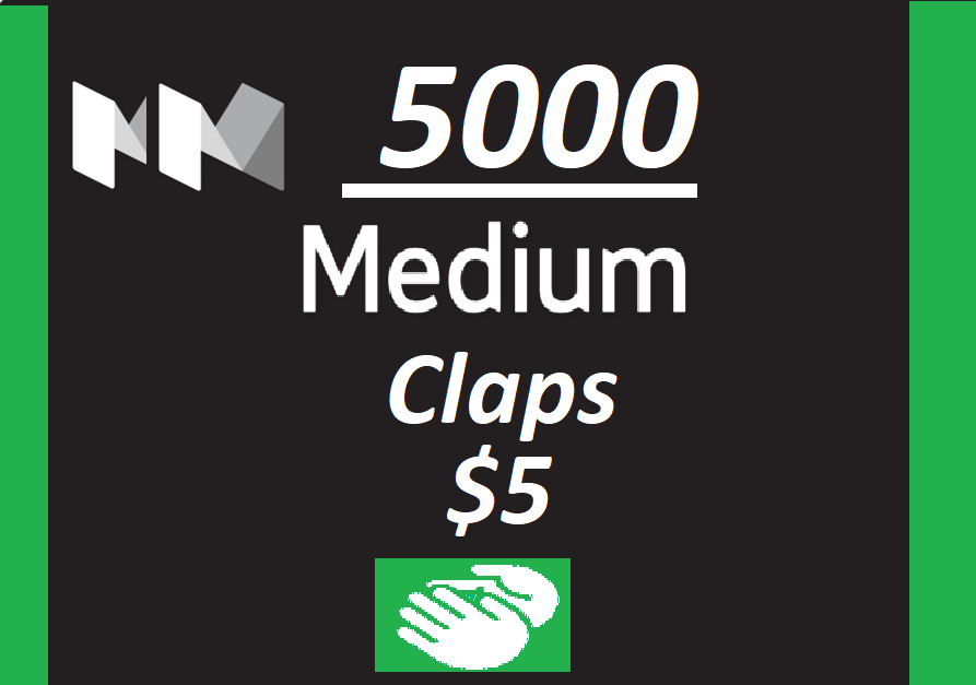 Get you 5000+ Medium claps to your Article within few hours