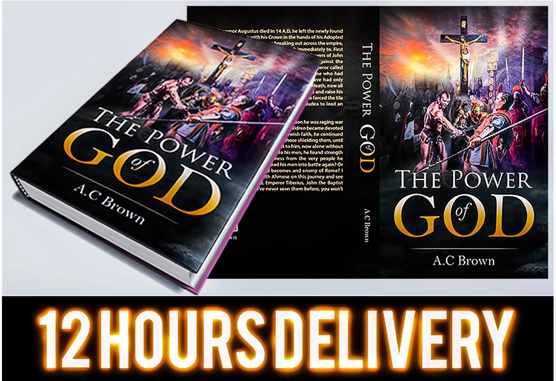 Design unique fantasy,  christian,  book cover,  kindle cover