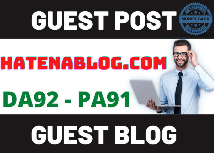 hatenablog. com Guest Post DA 92 PA 91 Do-Follow and Permanent