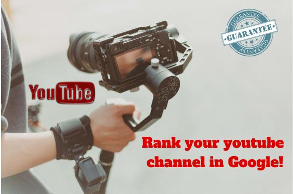 Boost your youtube Video in google with High DA Backlinks PR9 DA70+,  DA50+, DA30+, Forum, web 2.0