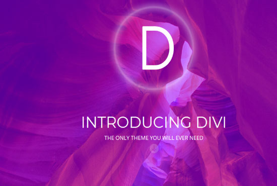 Install DIVI theme and Create 1 page In DIVI Builder