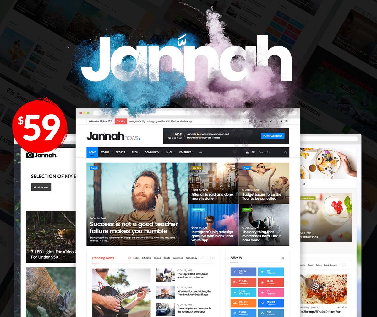 Install Premium Jannah Theme on your wordpress