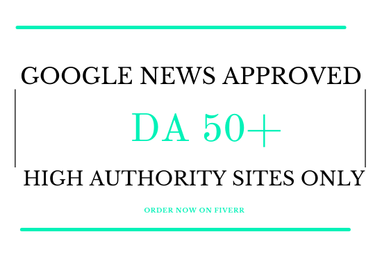 guest post on da 50 google news approved website for seo backlinks