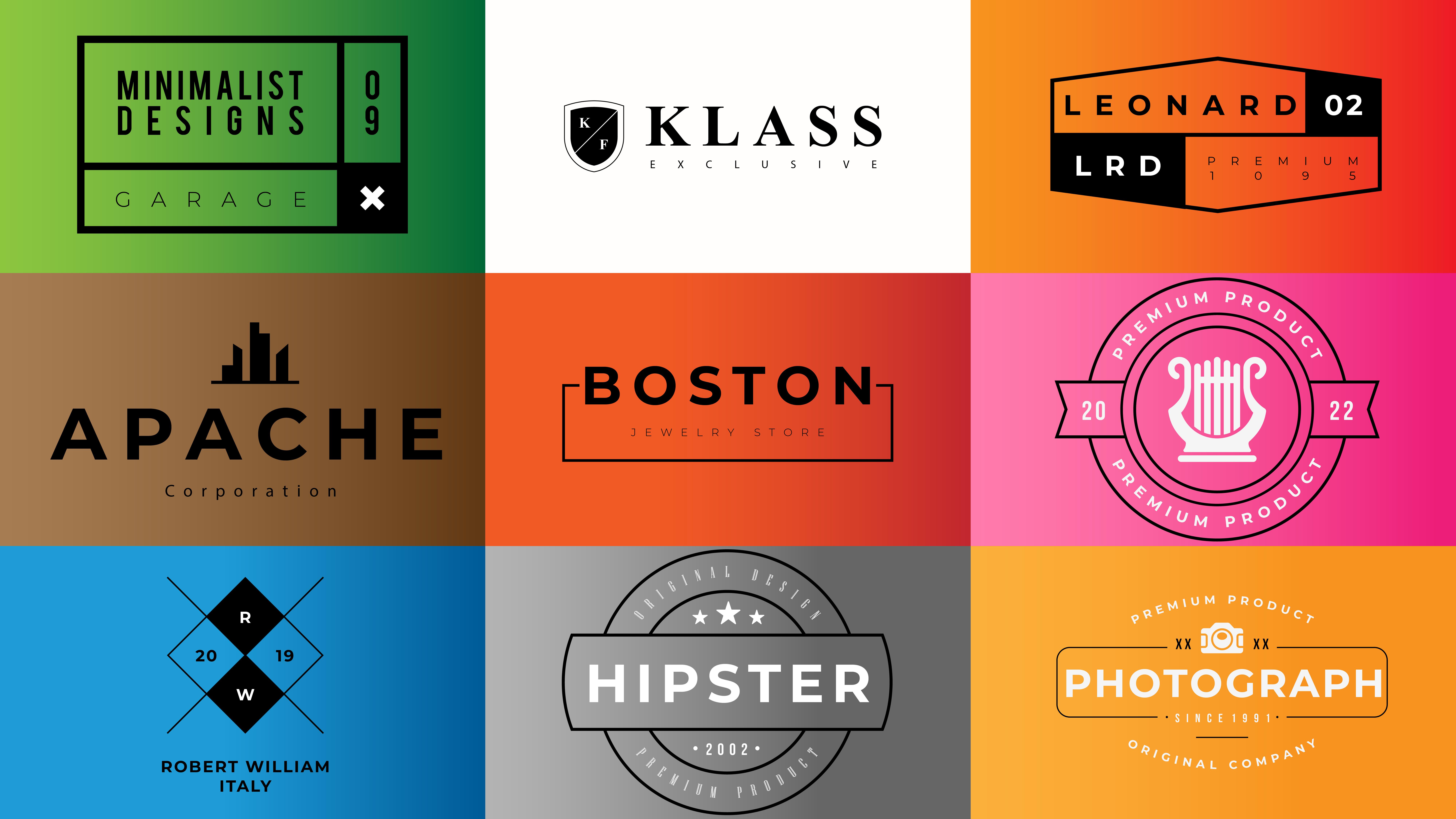 Do modern minimalist logo design