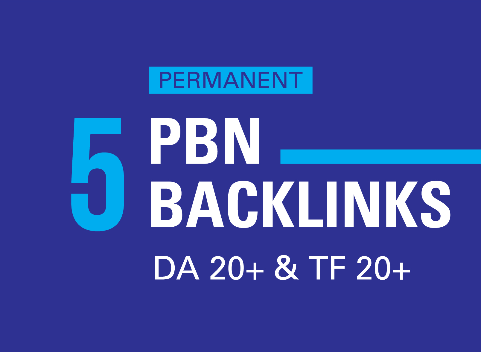 I Will Build Manually 5 Powerful SEO Backlinks from High Authority PBN Sites
