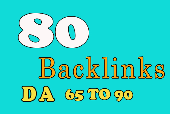 Manual 80 SEO Backlinks From 65+ 90 DA domains best SEO HELP fast indexing