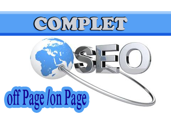 complete onpage and offpage SEO for your website