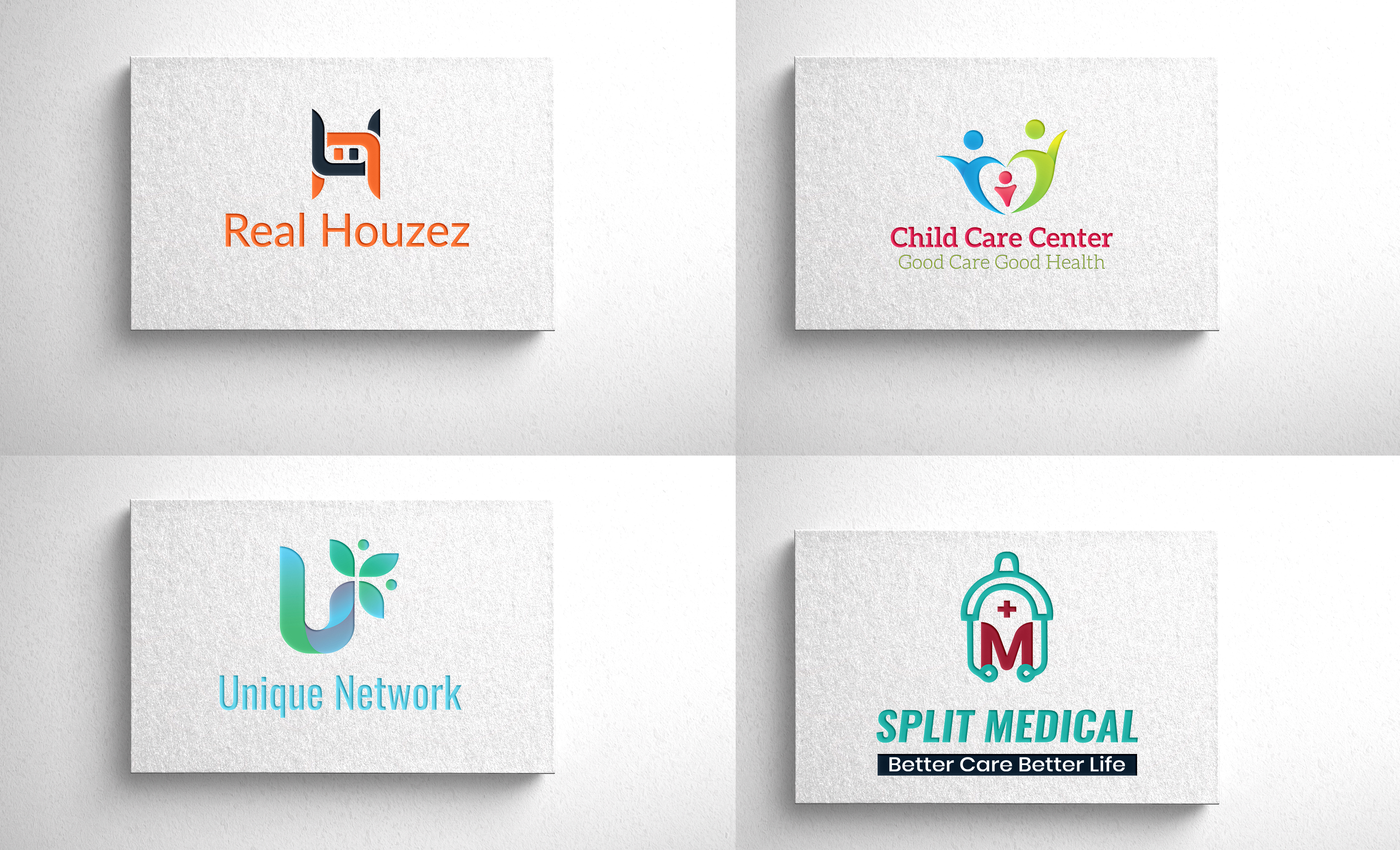 I will design professional modern logo for your business
