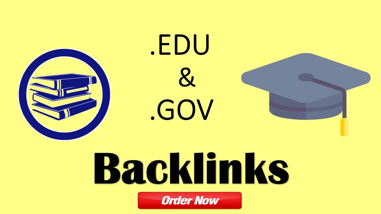 High Authority 300+ EDU. Gov. Backlink
