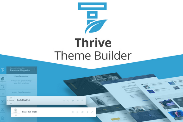 install thrive theme builder,  shapeshift theme with agency license