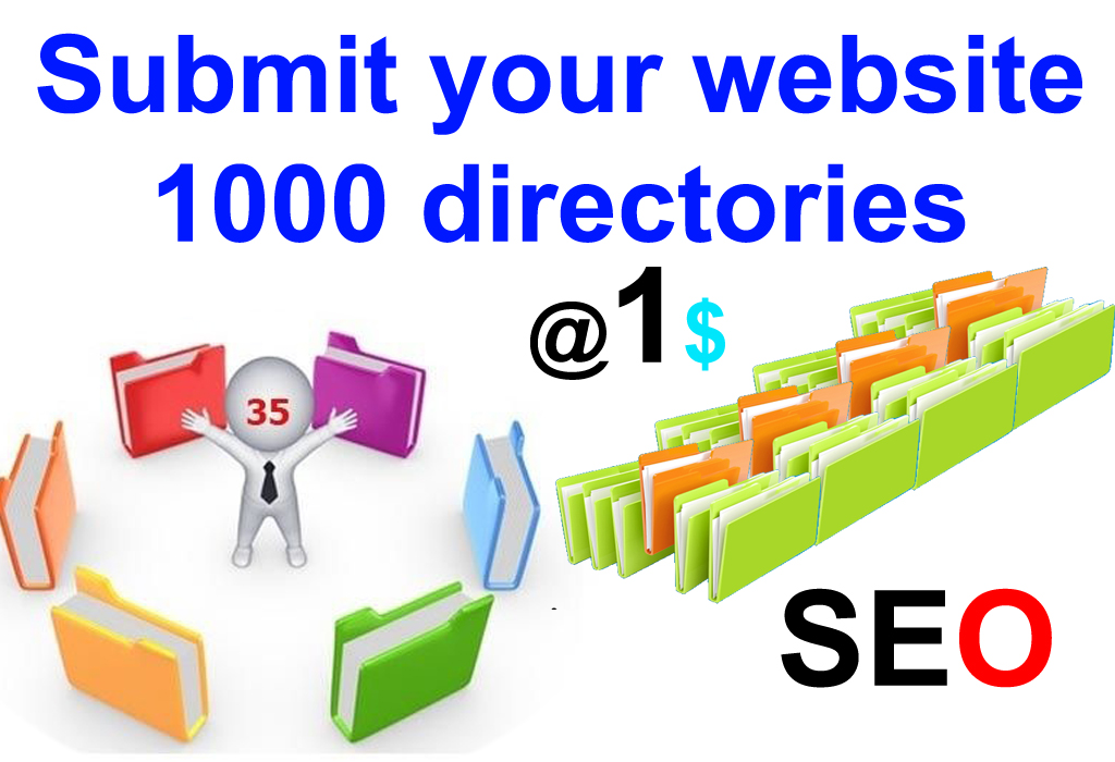 1000 Directory Submission for your website with in 3 Days