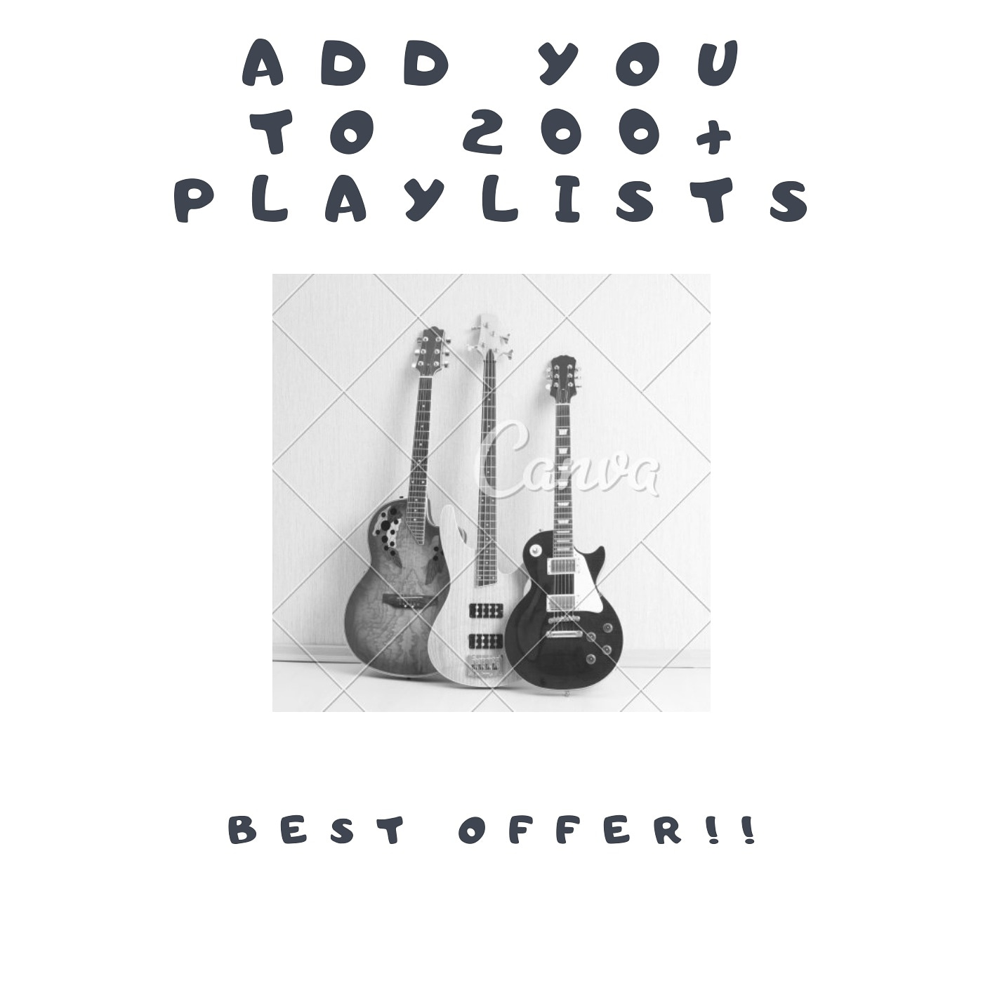Spotfy-100-Playlist-Adds-for-Your-song
