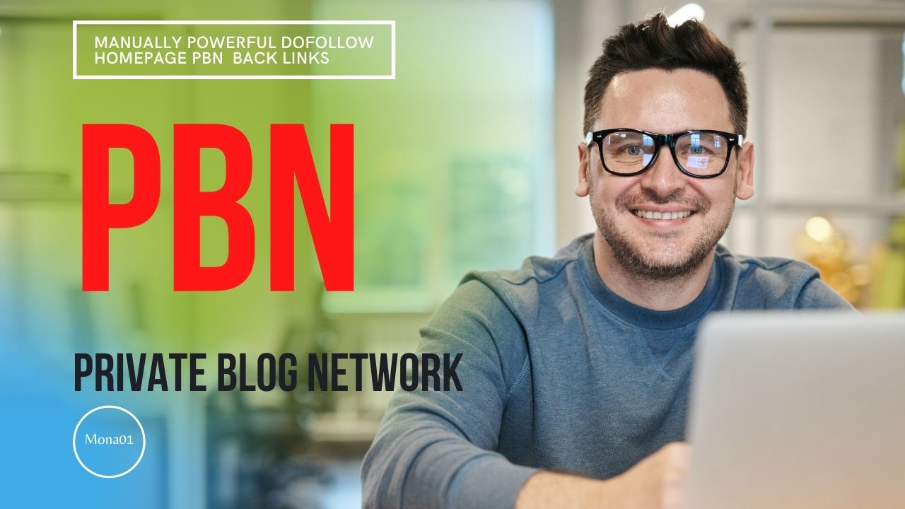 100 Plus Manually Powerful Dofollow Homepage PBN Backlinks