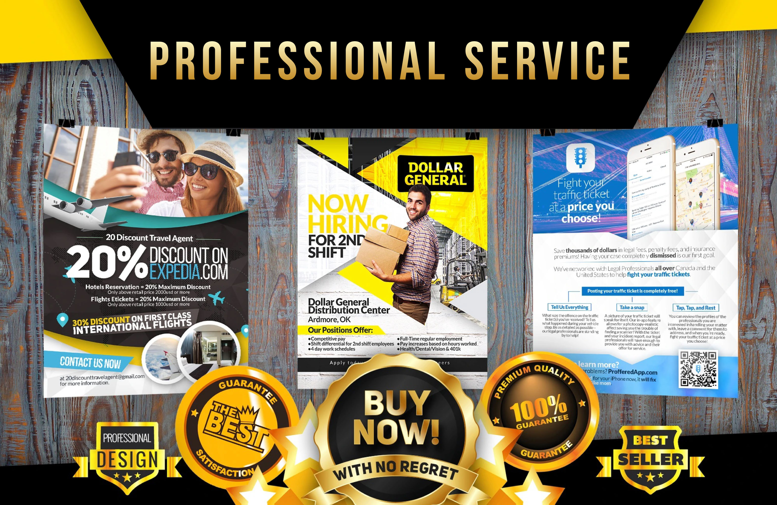 I will design an awesome flyer,  banner or cover