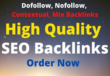 Authority High Quality SEO Backlinks for Google Ranking
