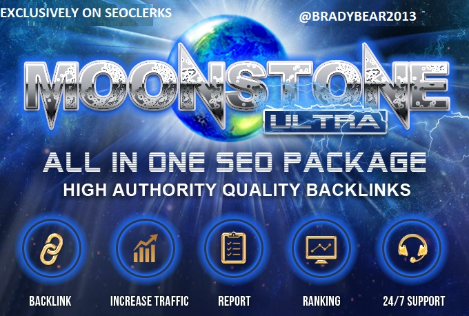 MoonStone Ultra All In One Premium SEO Package for Top Ranking
