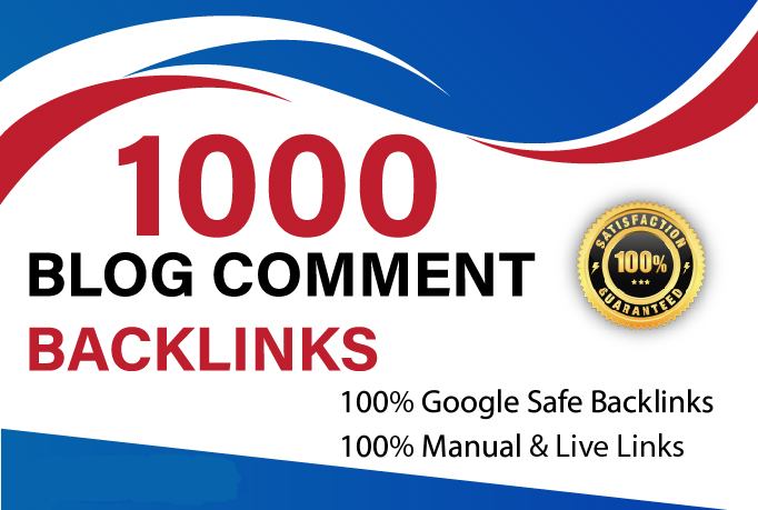 I will build manually 1000 blog comment SEO backlinks