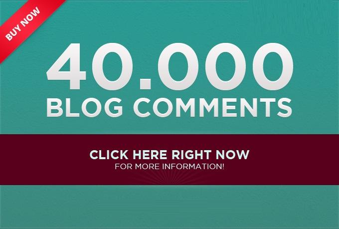 Provide 40,000 blog comments backlinks best for link pyramid