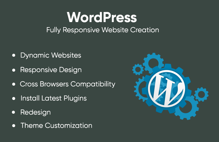 Create Wordpress Websites Fully Responsive and User Friendly