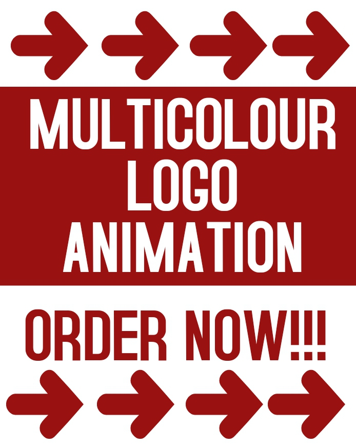 I WILL CREATE LOGO or MULTICOLOUR LOGO ANIMATION FOR YOUR COMPANY