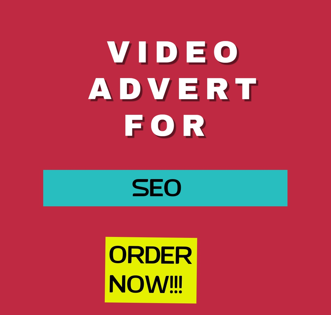 Order for VIDEO ADVERT for your brand,  company,  business