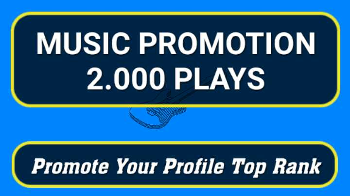 Promote Up 2,000 Real Spotify Streams for your Music playlist track