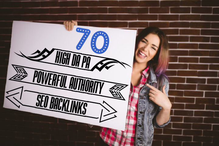 Do 70 High Authority SEO Backlinks, Service for Google Ranking