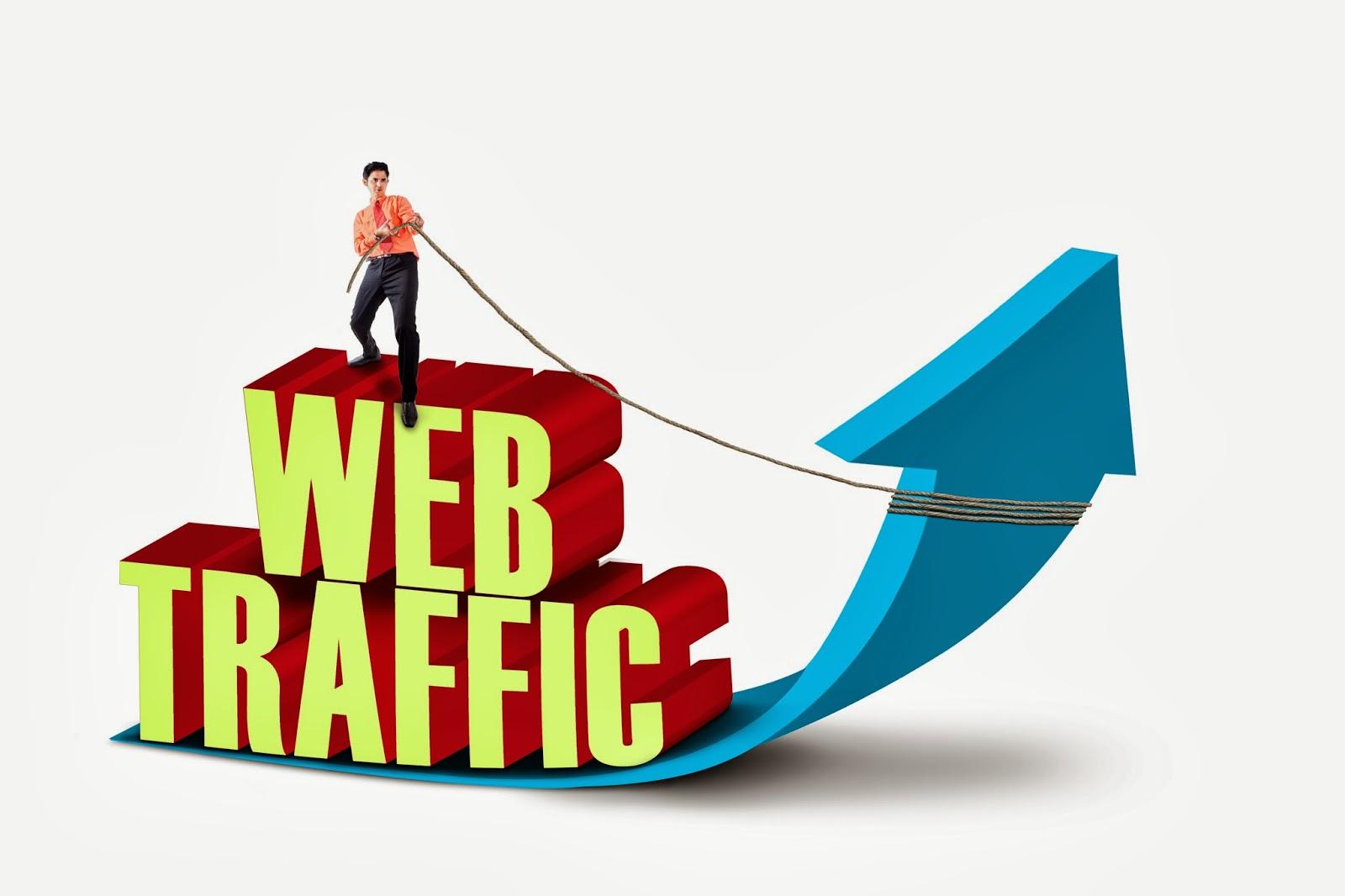 500,000 Website worldwide traffic