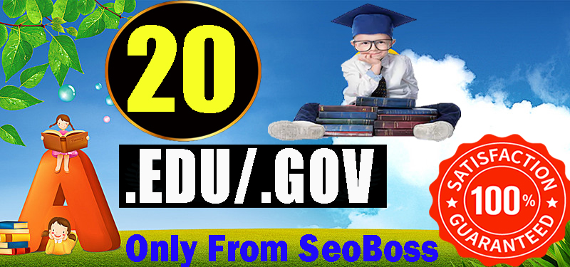 Creat 20+ EDU-GOV Safe SEO Backlinks Authority Site to Boost Your Google Ranking