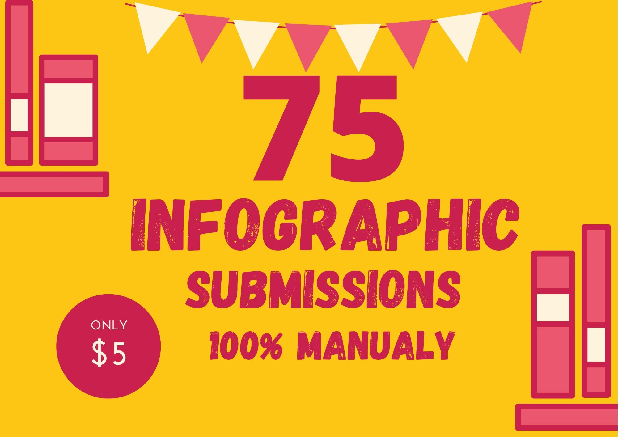 Manual Infographic or image Submission On High Images Sharing Sites