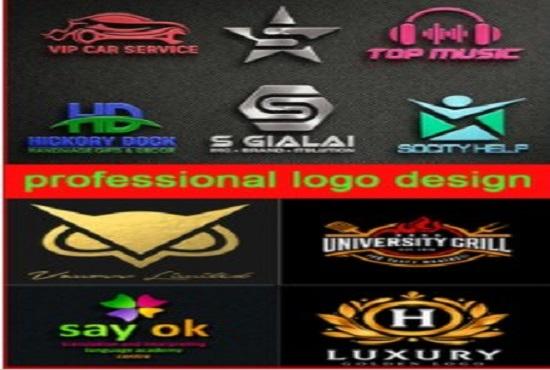 I Will Create Amazing Unique Logo Design