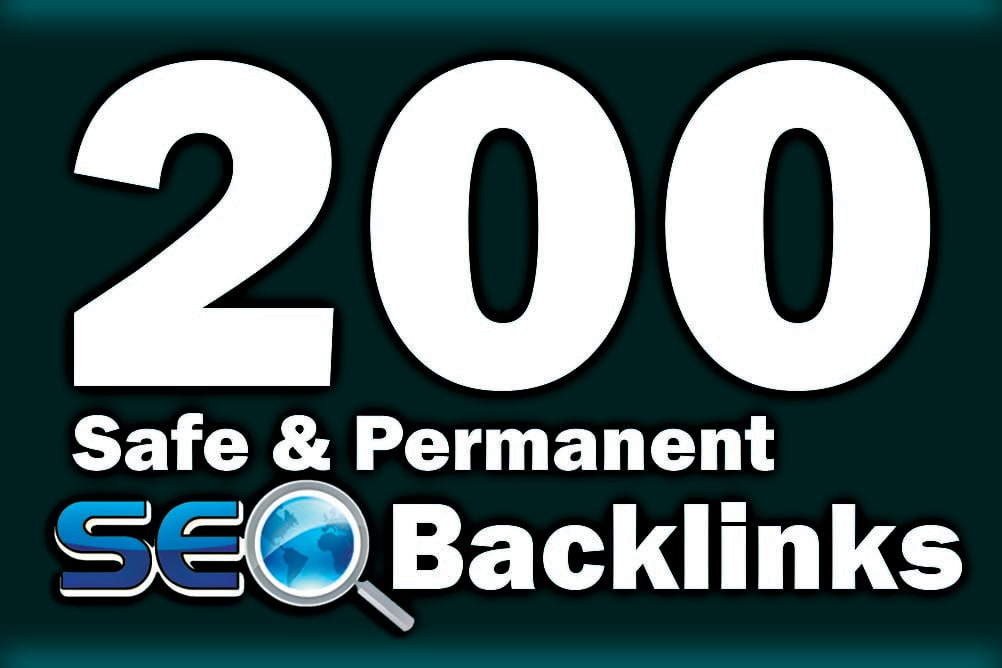 150 Unique Backlinks + 50 Dofollow seo backlinks service for link building