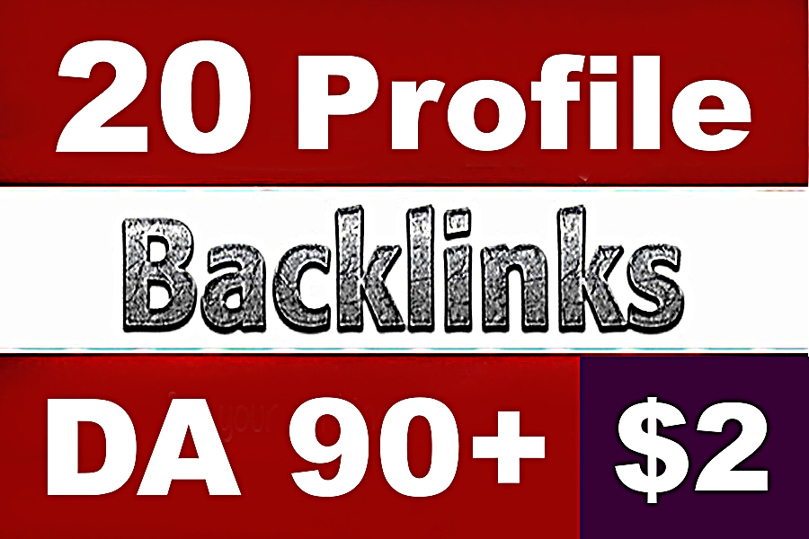20 PR9 DA90+ White Hat SEO Profile Backlinks