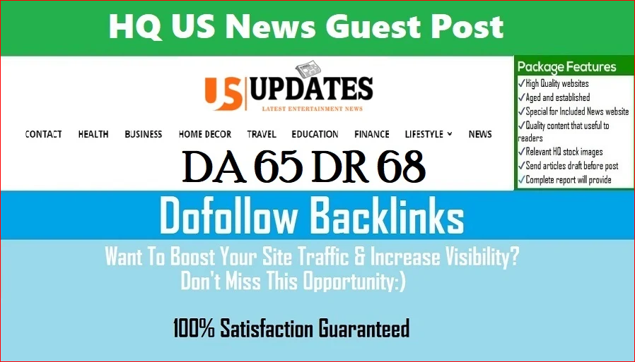 Write and Publish HQ US News Guest Post DA61