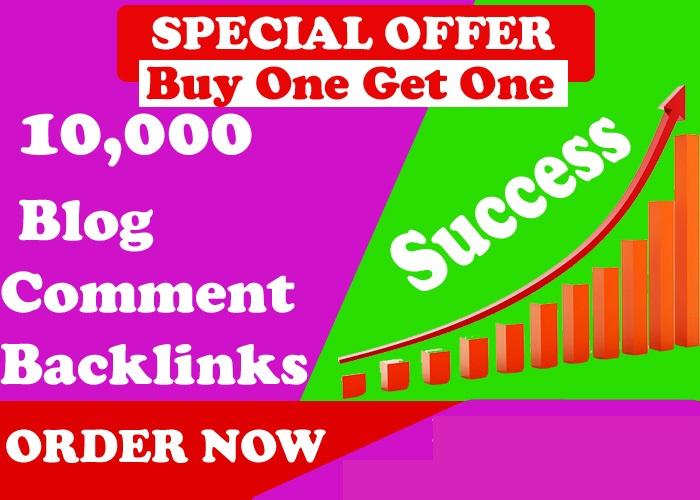 I'll create 10,000 GSA Blog Comments Backlinks for Google Ranking for 2