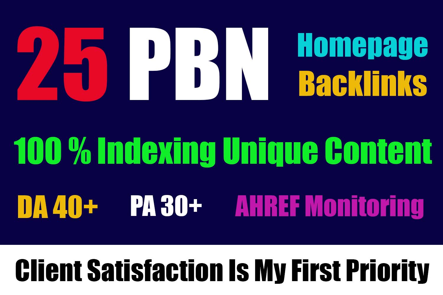Get Homepage Dofollow 25 PBN Backlinks With High DA 30+ And High PA/TF/CF