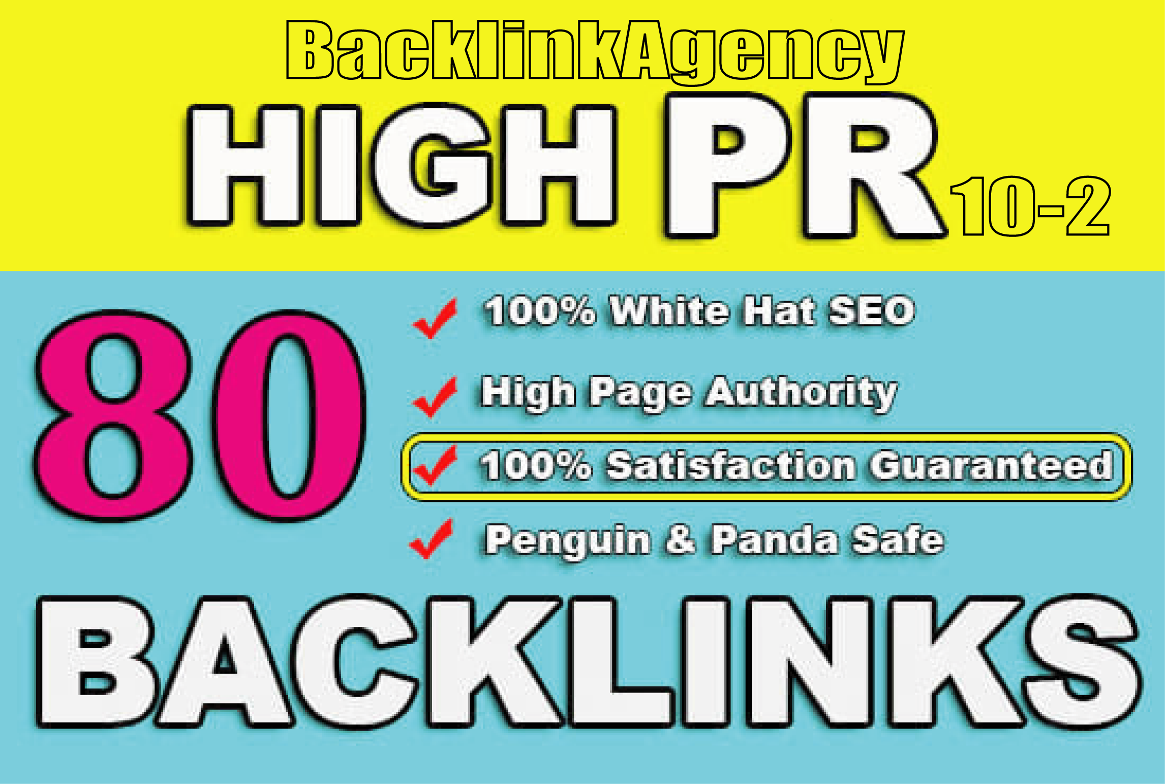 Create Manually 80 PR9 to 3 High Authority Backlinks Boost Your Google Ranking