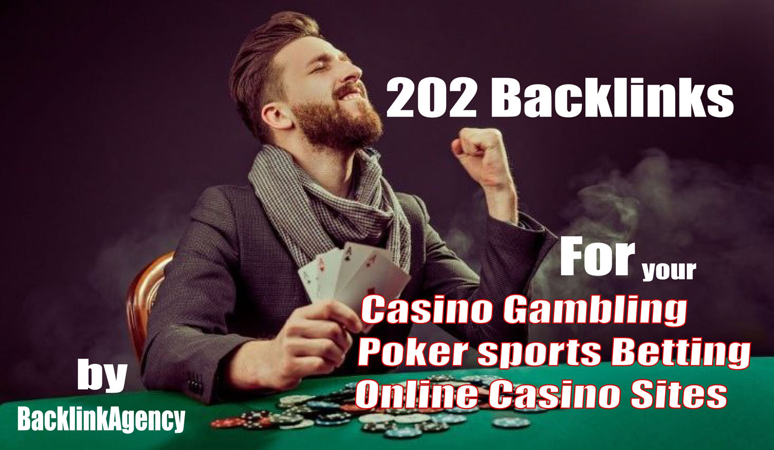 202 Backlinks is enough for Casino Gambling Poker sports Betting