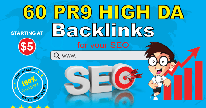 AdvanceSEO 60 Backlinks 40 PR9 with 20 Edu Gov Backlinks for Better SEO Rank