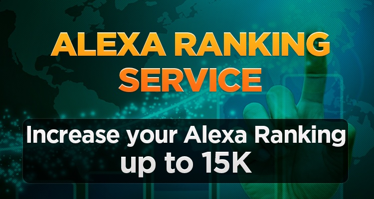Increase your alexa ranking up to 79k