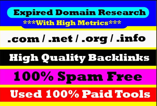 I will find 20 high authority expired domains for powerful pbn