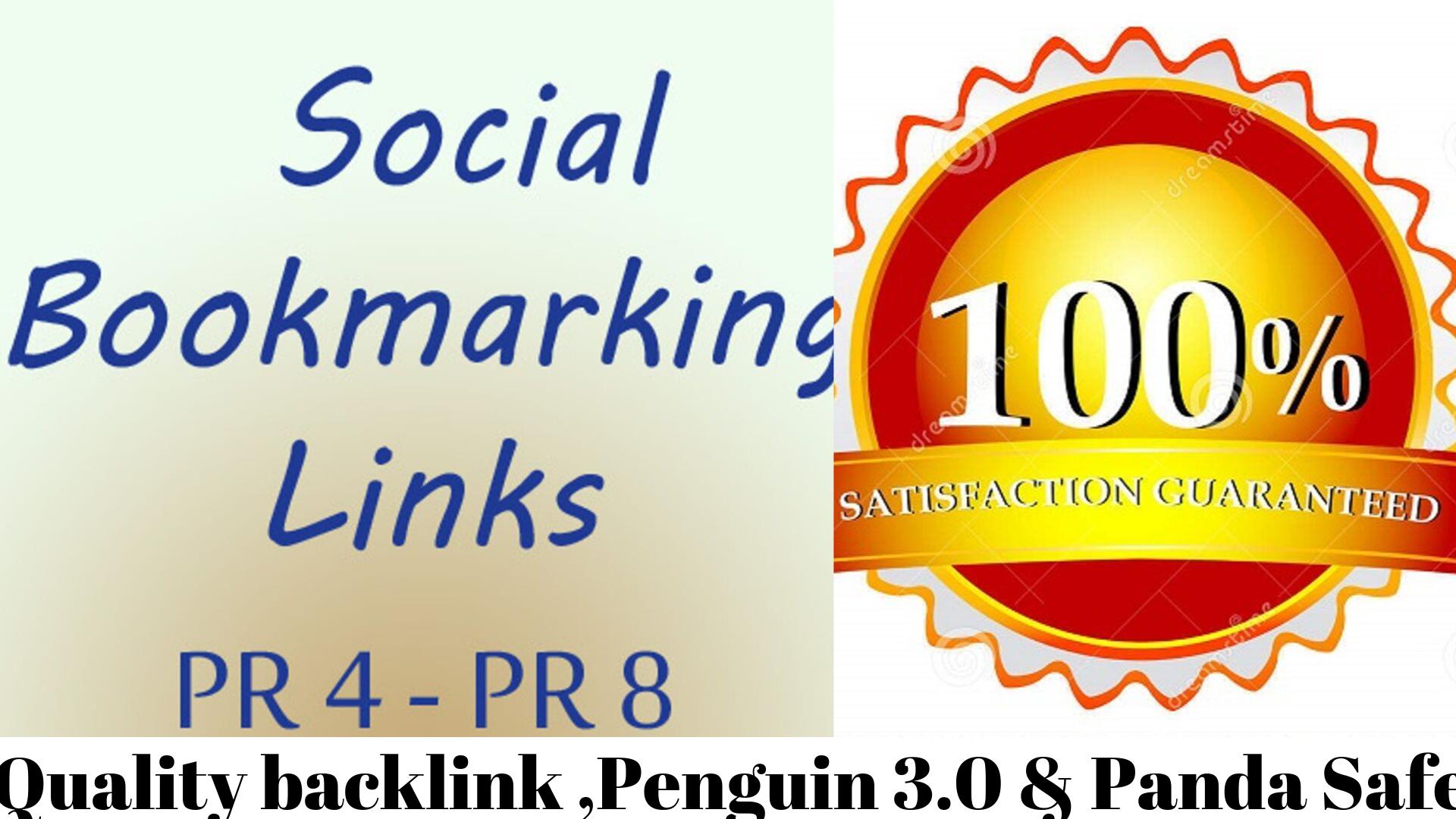 I Can Do 20 Quality Social Bookmarking Backlinks Manually With High DA PR