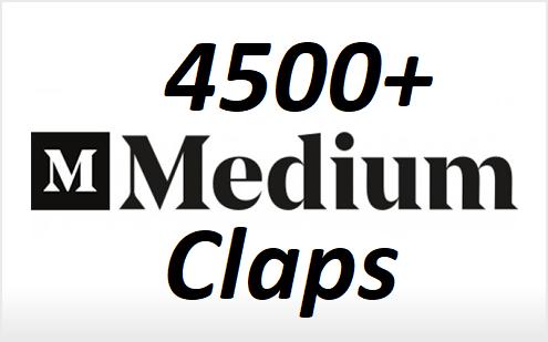 Bring 4500+ Random Excellent Medium Claps To Your Article