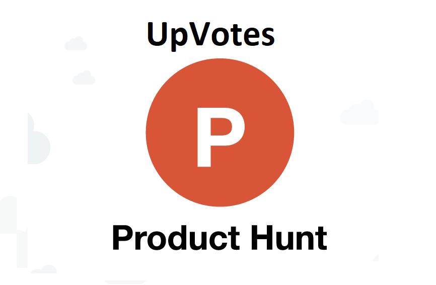 Give you 100+ Worldwide ProductHunt Upvotes